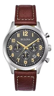 Reloj Bulova 96b301 De Hombre Quartz Cronografo Nuevo!!!