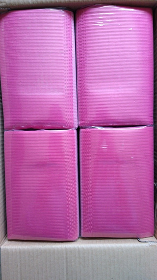 Campo Dental Desechable Color Rosa Pq/125 Piezas
