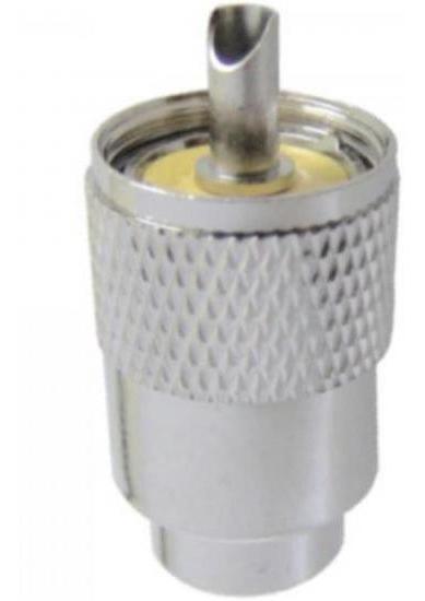 Conector Km1 Macho Para Rg213 Rg059 Com Redutor Genérico - P