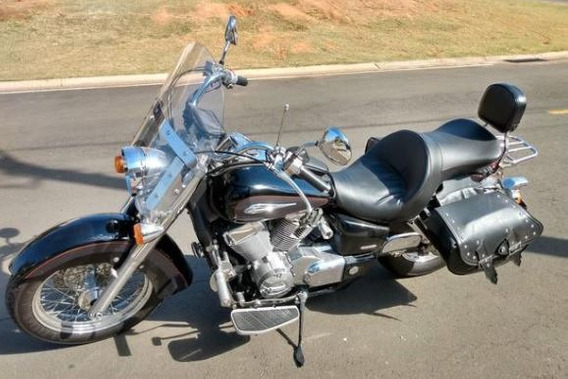 Shadow 750 Preta 2010