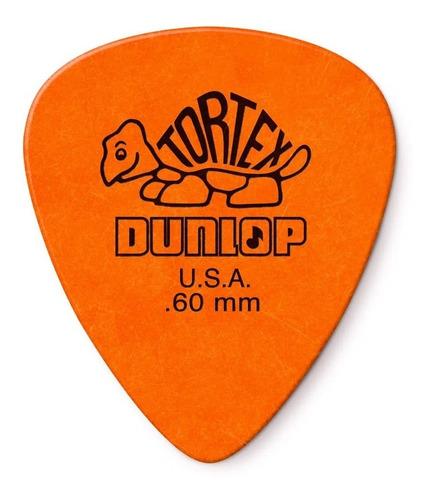 Imagem 1 de 5 de Kit Com 12 Palhetas Dunlop Tortex 0.60mm Usa