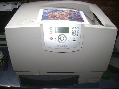 Impressora Lexmark C782 Laser Colorida Com Deck Excelente!