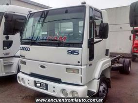 Camion Ford Cargo 915 Entrega 265000 Y 48cuotas Multicamju