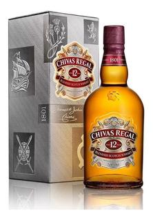 Whisky Chivas Regal 12 Años C/estuche Oferta