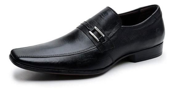 Zapato Cuero Democrata Hombre Premier Mocasin 206284 Cuotas