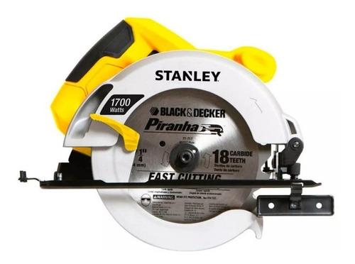 Sierra Circular 1600w. 7 1/4 Pulgadas / Sc16-b3 Stanley