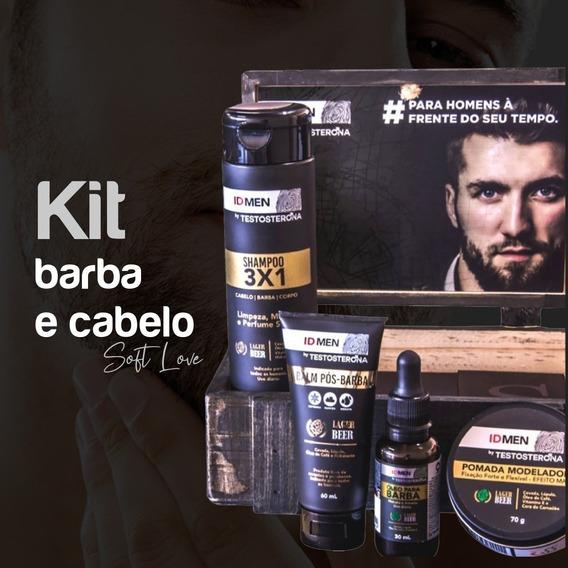 Produtos Para Homens Barba Cabelo Loção Id- Men Promoção