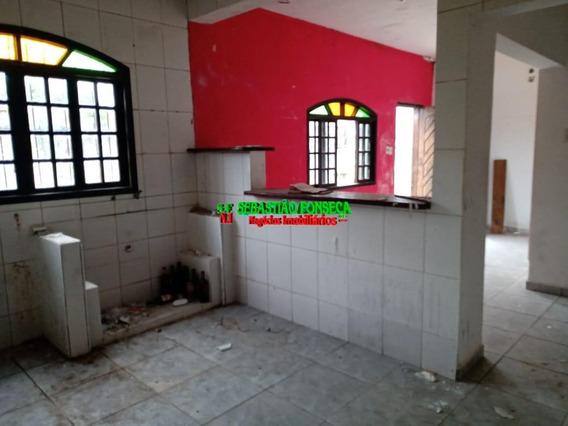 Casa 2 Dormitórios Em Caraguatatuba - 1524