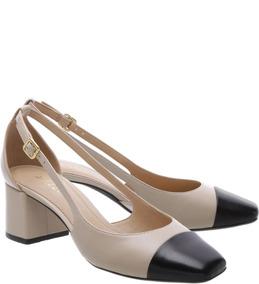 7eaa12e23f Arezzo Sapato Em Couro Vazado Feminino - Calçados