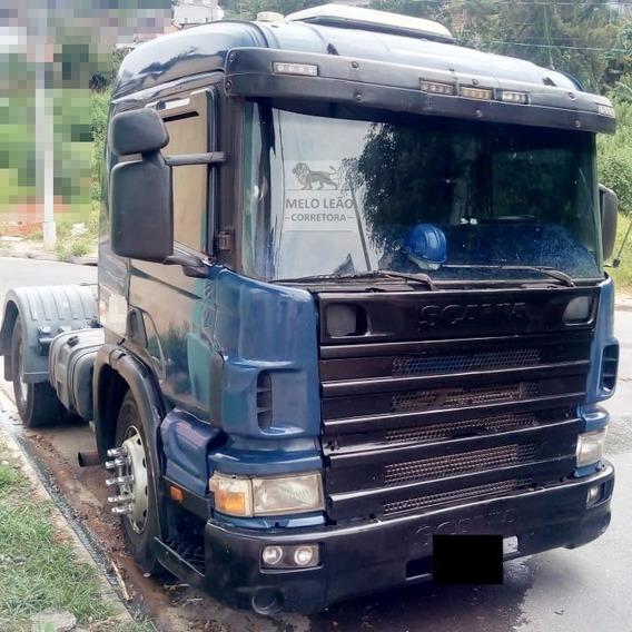Scania P-114 Ga 330 Nz 4x2 - 04/04 - Cavalo Toco, Cab Leito