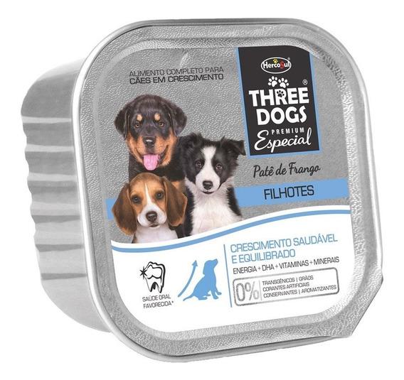 Patê Hercosul Three Dogs Filhotes - 150 G