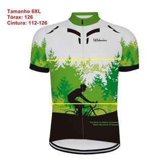 Camisa Para Ciclismo Unissex Bike Bicicleta Plus Size 5-10xl