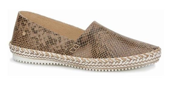 Zapato Dama 100% Piel, Suela Tipo Yute 2701707 Doble Ancho