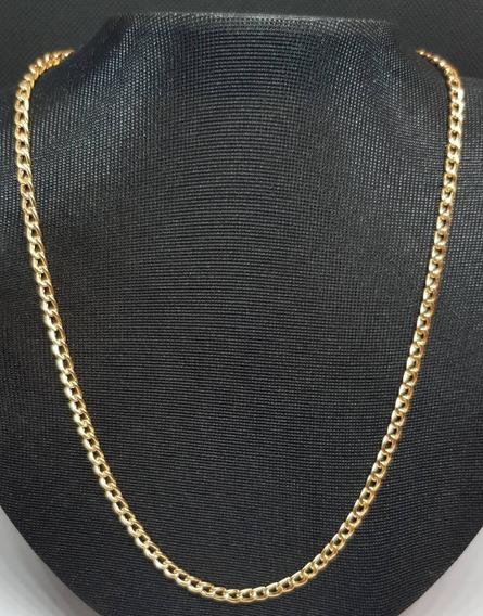 Corrente Elo Grumet Em Ouro 18k