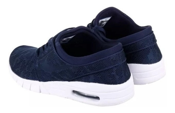 Zapatillas Nike Sb Janoski Max Azul (semana De Oferta)