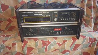 Amplificador Y Radio Trono (a_707) Revisar/reparar( Moreno)