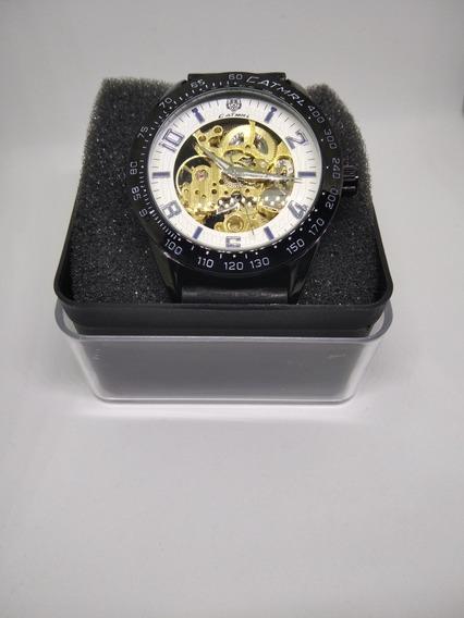 Relógios Skeleto Automático 1 Ano De Garantia
