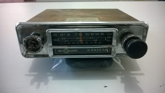 Radio Motoradio 3 Faixas