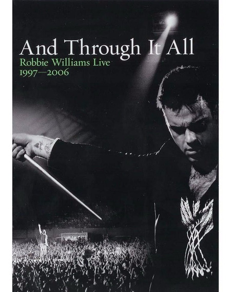 Robbie Williams Dvd And Through It All