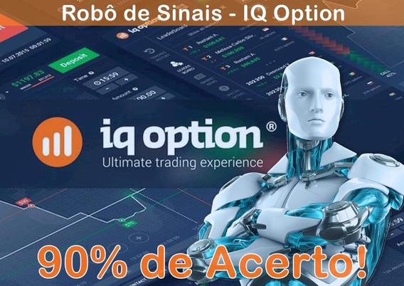 Robô Iq Option - P/ Opções Binárias - Atualizado -