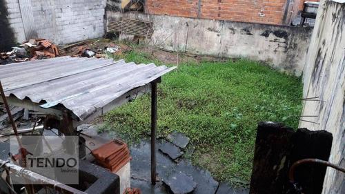 Imagem 1 de 15 de Imob01 - Terreno 250 M² - Venda - Jardim Via Anchieta - São Bernardo Do Campo/sp - Te0014
