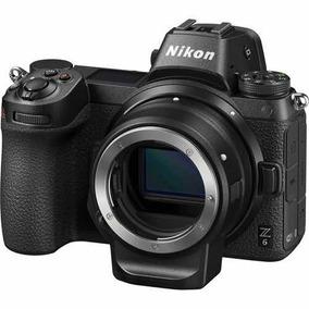 Nikon Z6 Mirrorless Digital Camera Com Ftz Adaptador Kit