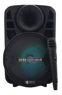 Parlante Portatil Inalambrico Bluetooth Karaoke Mic Usb Fm