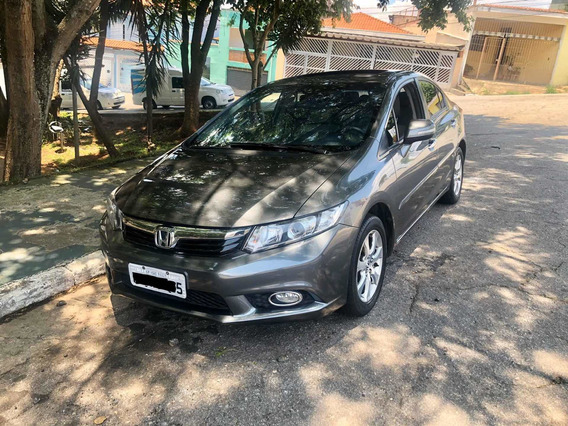 Honda Civic 1.8 Exs Flex Aut. 4p 2013
