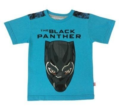 Playera Para Niño Super Héroe Marvel Official: Black Panther