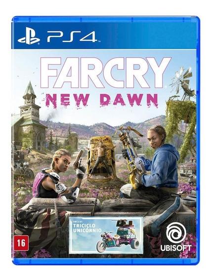 Far Cry New Dawn | Mídia Física | Novo | Pt-br | 12x S/juros