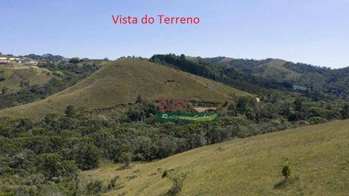Terreno À Venda, 1380 M² Por R$ 120.000,00 - Vale Feliz - Campos Do Jordão/sp - Te3286