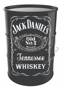 Adesivo Decorativo Jack Daniel Para Tambor Tonel Barril 200l