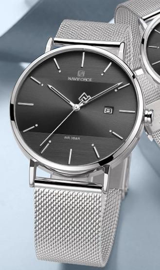 Relógio Feminino Naviforce 3009 Inox Frete Grátis S/juros