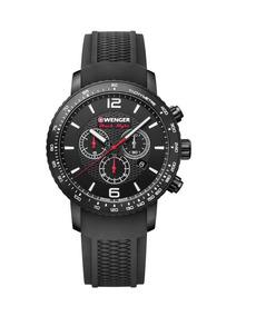 Relógio Suíço Wenger Roadster Black Night Cronográfo Preto