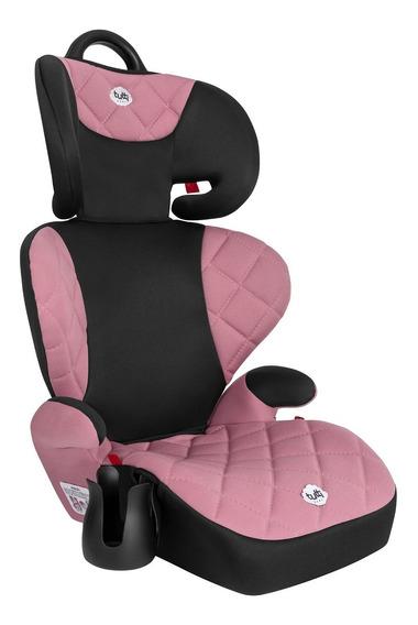 Cadeira Cadeirinha Infantil Bebê Carro Triton Rosa 15-36kg