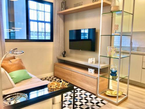 Apartamento Para Venda Em Curitiba, Centro, 1 Dormitório, 1 Banheiro - F00944_2-1137998