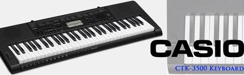 Teclado Casio Ctk3500 5 Octavas Sensitivo 61 Teclas