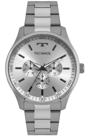 Relógio Technos Multifunção Masculino 6p29ajo/1k + Brinde