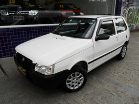 Fiat Uno Mille Fire 2006 Branco 1.0 Flex 2 Pts Ve Te Som