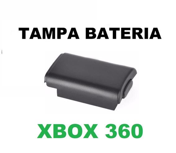 Kit 2 Tampa Bateria Suporte De Pilhas Controle Xbox360
