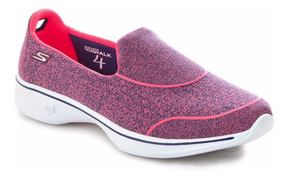 Zapatillas Skechers Go Walk 4 Super Mujer Caminata Importada