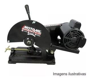 Serra Policorte Cortar Ferro Com Motor Sc-100m Motomil