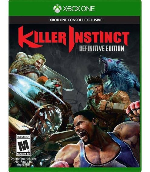 Killer Instinct Def. Edition Xbox One Novo Lacrado