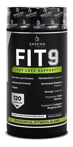 Fit 9 Sascha Fitness Fit9 120 Capsulas