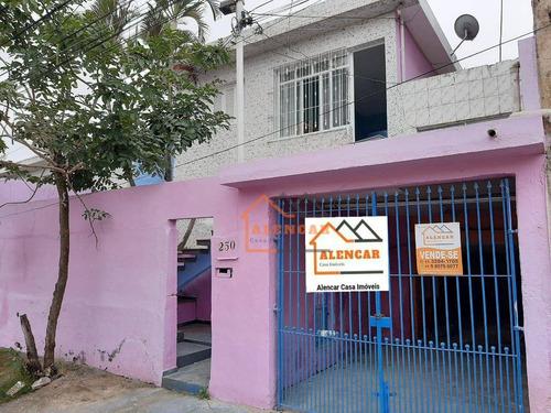 Imagem 1 de 30 de Casa Com 3 Dormitórios - Venda Por R$ 500.000,00 Ou Aluguel Por R$ 2.000,00/mês - Jardim Itapemirim - São Paulo/sp - Ca0144