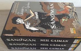 Sandman Edição Definitiva Vol. 1 Ao 3 + Caçadores De Sonhos