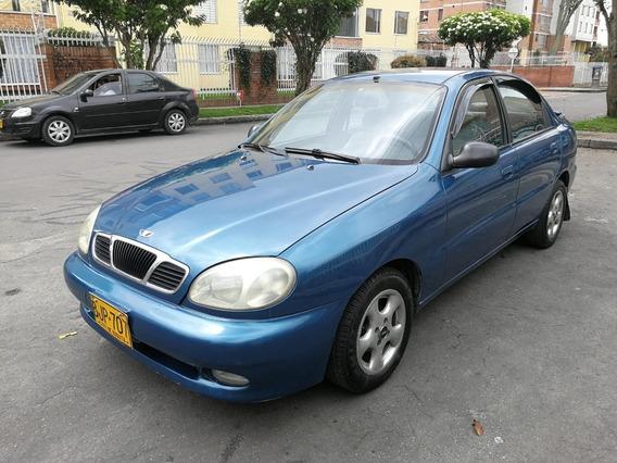 Daewoo Lanos Sx Mt1500cc Azul Celeste Aa Dh