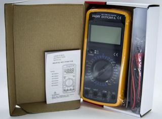 Kit 10un Multímetro Dt9205a Sem Data Hold