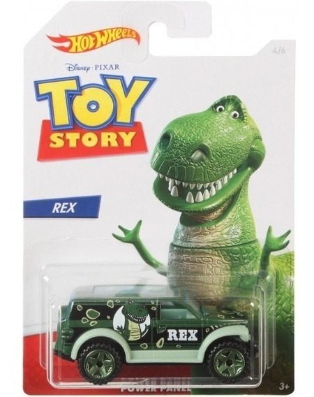Hot Wheels Toy Story Rex Power Panel Gbb25 - Mattel