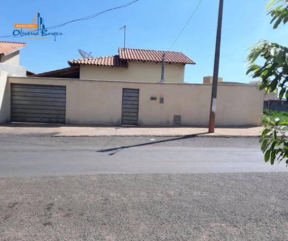 Casa Com 3 Dormitórios À Venda, 73 M² Por R$ 80.000,00 - Vila Lucimar - Inhumas/go - Ca0850